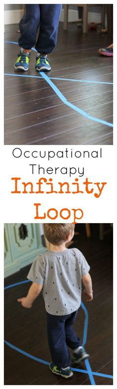 This classic occupational therapy activity has tons of benefits that help the brain! See how to use an Infinity Loop!