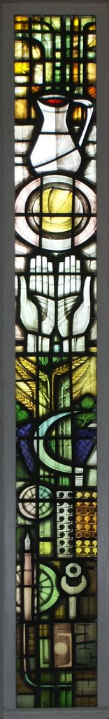 Symbolic | One of John Hayward's lights in the east window o… | Flickr - Photo Sharing!