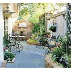 Side yard ideas for if and when we do a privacy fence around the side and back of the house