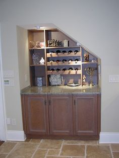 1000 Images About Under Stairs Bar On Pinterest Wine