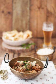 Curry tandoori de pollo