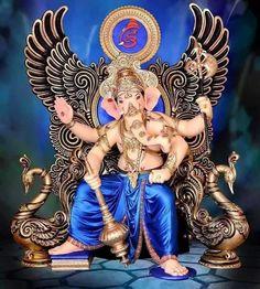 Photo Shri Ganesh Images, Ganesh Chaturthi Images, Happy Ganesh Chaturthi, Ganesha Pictures, Ganesh Aarti, Ganesh Bhagwan, Baby Ganesha, Ganesh Lord, Saraswati Goddess