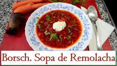 Borsch. Sopa de Remolacha. Las Recetas del Hortelano