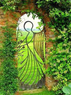 Beautiful Angel Gate
