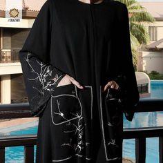 Repost @louzanfashion with @instatoolsapp أناقة لا محدودة من التشكيلة الاخيرة من لوزان احصلي على عبايتك الان واستغلي فرصة التنزيلات . رقم الموديل : JK6853 . #subhanabayas #fashionblog #lifestyleblog #beautyblog #dubaiblogger #blogger #fashion #shoot #fashiondesigner #mydubai #dubaifashion #dubaidesigner #dresses #capes #uae #dubai #abudhabi #sharjah #ksa #kuwait #bahrain #oman #instafashion #dxb #abaya #abayas #abayablogger #абая Abaya Fashion, Modest Fashion, Abaya Pattern, Modern Abaya, Modele Hijab, Arabic Dress, Abaya Dubai, Abaya Designs, Caftans