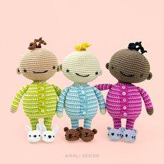 Babies in Pajamas - Amigurumipatterns.net