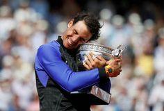 10th French Open title,  Rafa Nadal,  2017