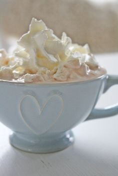 Hot chocolate ...