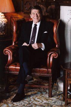 Ronald Reagan At Ashford Castle in Ireland - 1984. Ronald Reagan: President Reagan 40th #President of the United States
