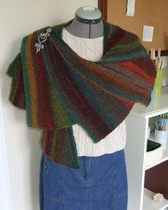Shawl Pin, Knit Shawls, Neck Piece, Spirals, Easy Gifts, Knitting Ideas, Scarfs, Scarf Wrap, Ravelry