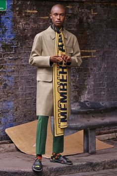 Stella McCartney Menswear Is Here, & Boy Are We Excited #refinery29 http://www.refinery29.com/2016/11/129588/stella-mccartney-new-menswear-collection-photos#slide-6 A menswear collection wouldn't be complete without a pair of cropped trousers, and you know it....