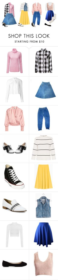 """""""Early 80s"""" by myraxela on Polyvore featuring Pure Collection, Rails, Helmut Lang, Topshop Unique, L.K.Bennett, Converse, Max&Co., rag & bone, Madewell and WearAll"""