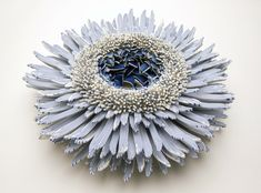 Forms of Nature Created from Thousands of Ceramic Shards by Zemer Peled  http://www.thisiscolossal.com/2014/10/zemer-peled-ceramics/