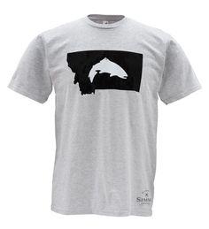 Fly Fish Montana T-Shirt - Simms Fishing