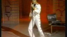Andy Kaufman becomes Elvis, via YouTube.