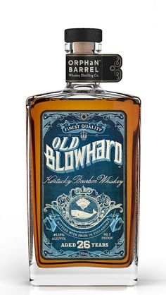 Old Blowhard Bourbon #Labels