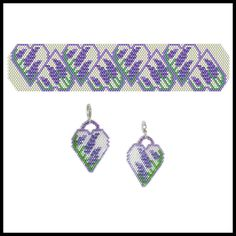 Seed Bead Jewelry, Seed Bead Earrings, Flower Earrings, Beaded Jewelry, Beaded Bracelets, Beaded Earrings Patterns, Bracelet Patterns, Beading Patterns, Crochet Earrings