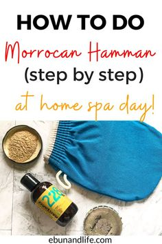 Are you looking for a cheap, inexpensive way to have an amaomg spa day at home? Then try the Morrocan Hamman. It is everything! #spaday #selfcare #selfcaresunday #pamper Korean Beauty Tips, Beauty Tips For Hair, Best Beauty Tips, Health And Beauty Tips, Beauty Hacks, Skincare For Oily Skin, Best Skincare Products, Beauty Products, Drugstore Skincare