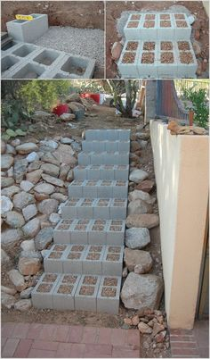 10 Amazing Outdoor Cinder Block Projects 4