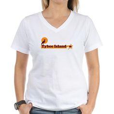 Tybee Island GA - Beach Design. Shirt on CafePress.com