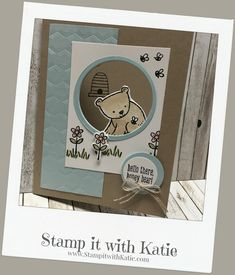 Stamp It with Katie: Little Bear
