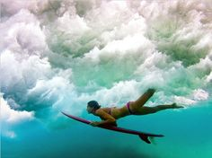 Surfing the clouds