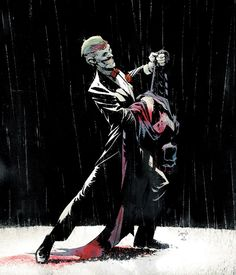 This is the Joker from Batman #17 or some such - I don't really know. But this artwork is MAD entrancing.