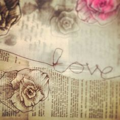 Love letters, romantic symbolism by Kelly Bond