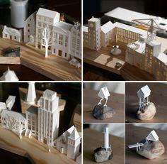A minúscula cidade de papel (Paperholm) - de Charles Young!!