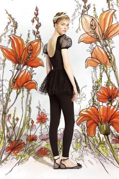 Red Valentino Spring 2014 Ready-to-Wear Collection Slideshow on Style.com Senior picture idea