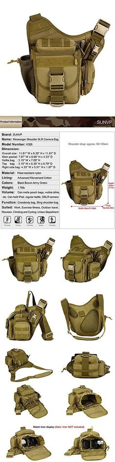 Waist Packs and Bags 181380: Protector Plus Multi-Functional Tactical Messenger Bag Pack Military Camera Bag BUY IT NOW ONLY: $34.73