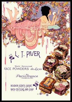The Paris face L.T.Piver Ad