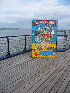 Mumbles Pier 4 by Darryl Hughes, via Flickr
