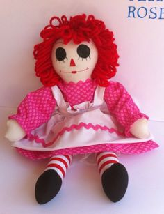 A personal favorite from my Etsy shop https://www.etsy.com/listing/264577786/valentine-raggedy-ann-doll-handmade