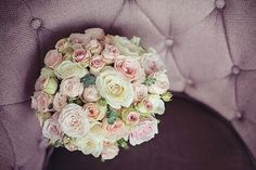 Justin Alexander for a Blush Pink Wedding in the North West. White and pink rose wedding bouquet.  Image by Tiree Dawson Photography.  Read more: http://bridesupnorth.com/2015/12/02/the-love-boat-justin-alexander-for-a-dreamy-blush-pink-wedding-in-the-lakes-tracy-carl/