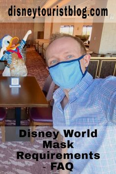 Disney World Tips:  Mask Requirments - FAQs and the answers you'll want to know from disneytouristblog.com Disney World News, Walt Disney World Vacations, Disney World Tips And Tricks, Relaxation Station, Blizzard Beach, Disney Tourist Blog, Disney Planning, Tokyo Disneyland, Disney Springs