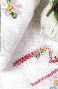 Como bordar toallas