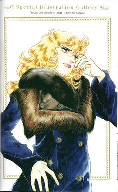 Lady Oscar - Orpheus no Mado - Onisama E Lady Oscar, 3 Characters, Old Anime, Shoujo, Chinese Art, Art Drawings, Princess Zelda, Kawaii, Fan Art