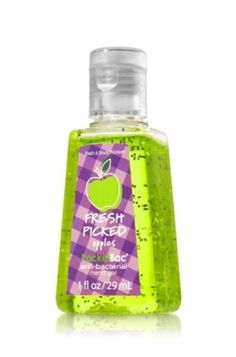 Bath  Body Works Fresh Picked Apples Pocketbac Antibacterial Hand Gel 1fl Oz29ml *** More info could be found at the image url.