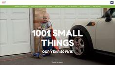 1001 small things, Rainbow Trust