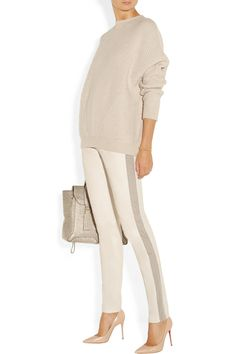 J Brand Masako leather tapered pants NET-A-PORTER.COM