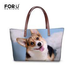 Ladies Bags Messenger Shoulder Female Tote Prints Animal Cross-body Womens Dog Dachshund 3D Handbags