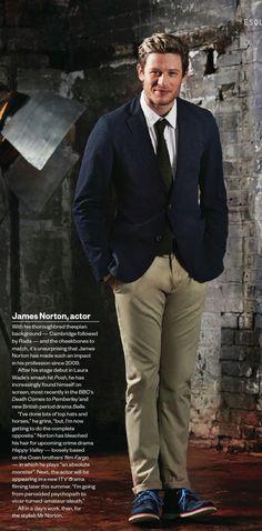 "James (""Grantchester"") Norton, English film actor"
