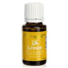 Lemon Essential Oil   Young Living Essential Oils