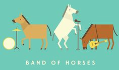 Band of Horses – Horse Band • Also buy this artwork on wall prints, apparel, stickers, and more.