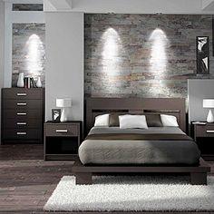 Herrliche dunkle #Schlafzimmer Komposition in braun Mehr ...