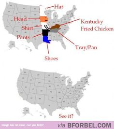How To Find Kentucky On The Map…