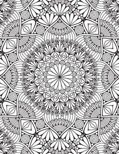 Home Decorating Style 2020 for Dessin A Imprimer Mandala Difficile, you can see Dessin A Imprimer Mandala Difficile and more pictures for Home Interior Designing 2020 at Coloriage Kids. Abstract Coloring Pages, Pattern Coloring Pages, Printable Adult Coloring Pages, Mandala Coloring Pages, Adult Colouring Pages, Mandalas Painting, Mandalas Drawing, Cool Pencil Drawings, Coloring Books
