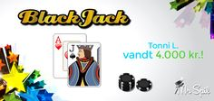 4.000 kr. til tegnedrengen var hvad Tonni endte med i går efter at have spillet blackjack på nettet hos Mr Spil. Læs selv mere om online blackjack her: http://www.mrspil.dk/blackjack