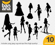 Check out our barbie silhouette selection for the very best in unique or custom, handmade pieces from our shops. Cricut Monogram, Anchor Monogram, Silhouette Png, Barbie Party, Png Format, Vinyl Designs, Vector Graphics, Talk To Me, Silhouettes